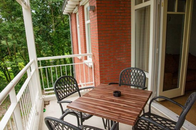 Hotel met balkon 1